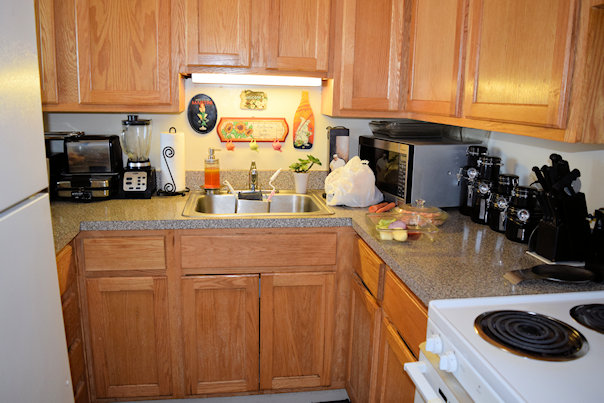 A Furnished Kitchen